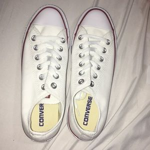 White, Red, & Blue Converse NWOT